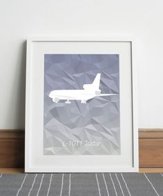 Lockheed L-1011 Tristar Aircraft - Digital download by Sketch22uk on Etsy