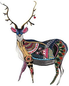 This is the kind of deer I would hang on my wall!