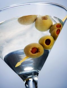 Mixing up Martinis? Make Mine Dirty: Save your olive juice, because the Martinis are getting dirty over here!