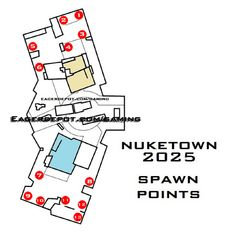 Nuketown Zombies Map Layout After The Bomb Assorted