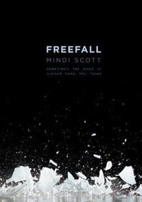 Freefall by Mindi Scott - A bass guitar player in a teen rock band deals with alcoholism, his best friend's death, and first love. Book Page Roses, Book Design Inspiration, Design Ideas, Kindergarten Art Projects, Buch Design, Clear Eyes, Book Jacket, Beautiful Cover, Penguin Books