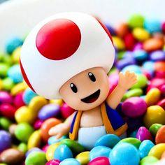 A hearty good morning hello! Toad and glorious colours care of @sabrinaslife2   #nin #nint #nintendo #nintendolife #nintendoGram #nintendoDe #anime #manga #amiibo #photo #photoofday #i #instalike #Instaworld #importgaming #instagramers #toy #toyphotography #igersnintendo #game #games #videogame #like4like #likeforlike #zelda #pokemon #pikachu #happy