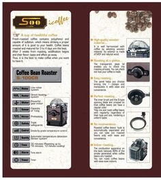 Amazon.de: CRK Kaffeeröster S-100CR für professionelle Kaffeeröstung, braun