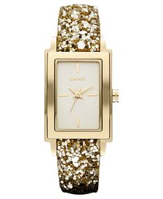 DKNY Sparkle watch at Macys.