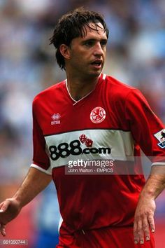 Fabio Rochemback Middlesbrough Middlesbrough Fc, Wigan Athletic, Football Players, Polo Ralph Lauren, Soccer, England, Mens Tops, Pictures, Photos