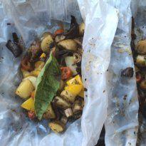 Herb Infused Veggies in a Bag