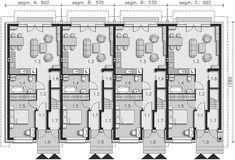 Projekt domu Fossano DCSW13 136,02 m2 - koszt budowy 208 tys. zł - EXTRADOM Floor Plans, Mountain, How To Plan, Floor Plan Drawing, House Floor Plans, Mountaineering