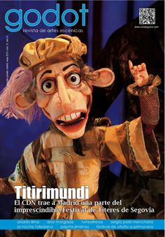 Número 31. Titirimundi. Títeres en portada Movies, Movie Posters, Fall Festivals, Plays, Art Journals, Cover Pages, Film Poster, Films, Popcorn Posters