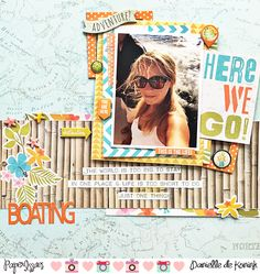 Boating - Simple Stories - You Are Here Collection