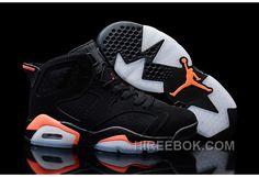 "http://www.hireebok.com/2016-air-jordans-6-retro-black-infrared23-for-sale-authentic-ep6m5.html 2016 AIR JORDANS 6 RETRO ""BLACK/INFRARED23″ FOR SALE AUTHENTIC EP6M5 : $92.00"