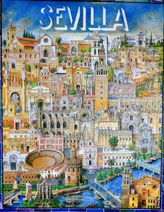 10 Best Maps of Sevilla images