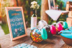 Caso Real: casamento de cinema D&K | Casar é um barato (Idéia massa para a mesa de doces e principalmente para crianças!)