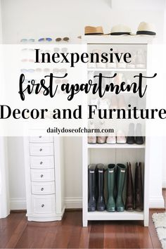 Inexpensive first apartment decor and furniture! Where to find inexpensive decor. - Inexpensive first apartment decor and furniture! Where to find inexpensive decor and cheap furnitur - Apartment Decorating On A Budget, Diy Apartment Decor, Cheap Apartment, Apartment Furniture, Apartment Checklist, Apartment Hacks, Apartment Essentials, Inexpensive Furniture, Cheap Furniture