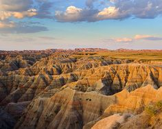 Badlands, South Dakota. Reall neat in person. It's very hot specifically in this area and then when you drive out of it, the weather feels normal again.. at least I thought so.