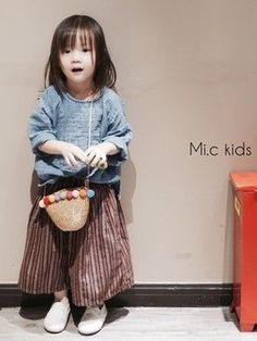 makiyocc│no brand的上衣搭配 - WEAR Toddler Fashion, Toddler Outfits, Kids Fashion, Girl Outfits, Sewing Kids Clothes, Cool Kids Clothes, Winter Baby Clothes, Kids Winter Fashion, Look Girl