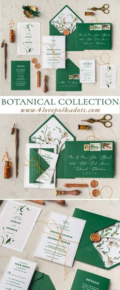 Our new botanical wedding invitation collection is here for 2018! Plenty of new floral calligraphy designs which will (hopefully) steal your heart. Fully assembled and completely customizable invitation suits. Each includes invitation card with envelope, RSVP with envelope and details or reception card #wedding #ideas