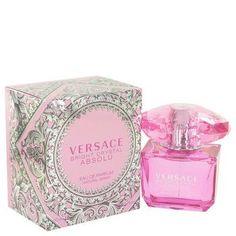 Bright Crystal Absolu By Versace Eau De Parfum Spray 3 Oz