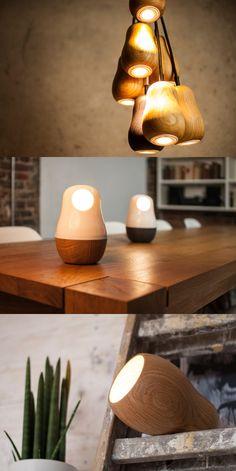 Yury Ustsinau Babula Lamp Collection