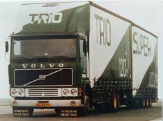 Volvo F 12 6x2 topsleeper met volume tautliner wipkar van Trio Transport te Breukelen