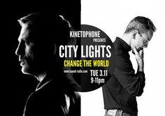 CITY LIGHTS Film Music Radioshow - Change The World (From Spectre to Bond) Light Film, City Lights, Change The World, Bond, Community, Music, Movie Posters, Image, Musica