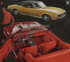 1966 Chevy Camaro Ad - 1967 Model - Coupe - Convertible - Hardtop - Muscle - GM - General Motors - R 1967 Camaro, Chevrolet Camaro, Chevelle Ss, Us Cars, Sport Cars, Sport Sport, Camaro Ss Convertible, Mustang, Volkswagen
