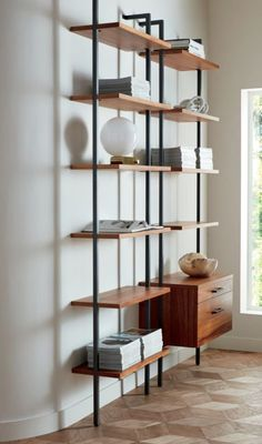 Super Ideas For Home Office Design For Two Space Saving Shelves Small Bedroom Furniture, Space Saving Furniture, Small Room Bedroom, Furniture For Small Spaces, Cheap Furniture, Home Decor Bedroom, Furniture Decor, Modern Furniture, Furniture Design