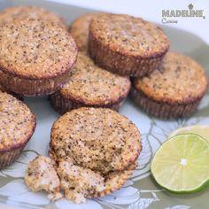 Briose cu mac si lamaie / Lemon poppy seed muffins - Madeline's Cuisine Lemon Poppyseed Muffins, Cookie Do, Cookies Policy, Free Food, Poppies, Seeds, Mac, Snacks, Breakfast
