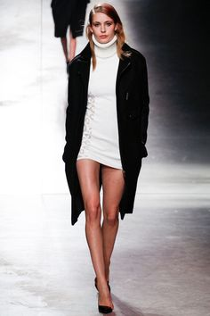FALL 2014 READY-TO-WEAR Anthony Vaccarello Nadja Bender  (OUI)