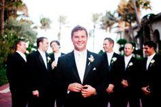 Groomsmen - Palm Beach Wedding   http://caratsandcake.com/jobriaandjosh
