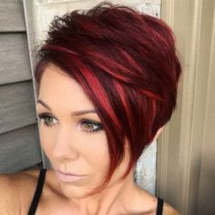 15+ best ideas about Red Pixie