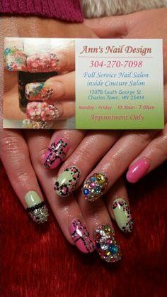 Melanie nails by Ann
