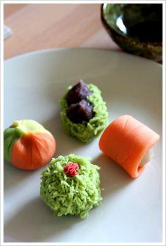 autumn nerikiri (japanese sweets) | Flickr – Compartilhamento de fotos!