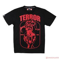 Terror T-Shirt Wizard (Black/Red) | 805-009-150
