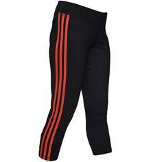 Quần thể thao nữ Adidas màu đen phối đỏ co dãn phù hợp với tập Gym, chạy bộ và dạo phố.Chất liệu vải co giãn tiện lợi, tạo cảm giác thoải mái cho người mặc và không gấy khó chịu. Thích hợp với những bạn nữ thường xuyên vận động.