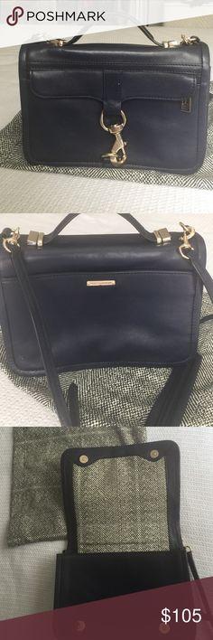 Zara Crossbody bag Navy blue color , perfect condition Rebecca Minkoff Bags Crossbody Bags