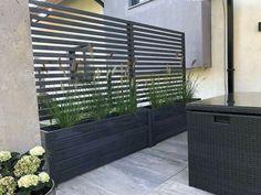 Privacy Planter, Garden Privacy, Privacy Screen Outdoor, Backyard Privacy, Outdoor Pergola, Outdoor Decor, Garden Path, Garden Borders, Easy Garden