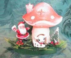 Santa and shrooms***