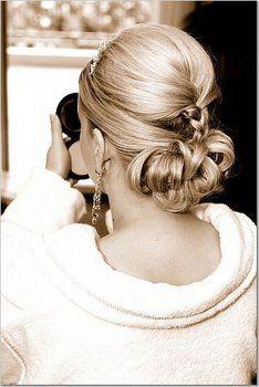 Wedding, Hair, Updo - christa