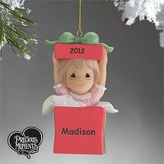 Precious Moments® Personalized Ornament- Girl