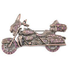 Charm Tattoo, Harley Gear, Motorcycle Style, Motorcycle Fashion, Biker Love, Harley Davidson Motorcycles, Girls Best Friend, Brooch Pin, Vintage Fashion