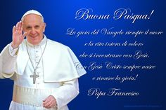 Cartolina Buona Pasqua Papa Francesco: la Gioia del Vangelo Happy New Year, Humor, Messina, Calcutta, Passionate People, Genere, Amazing Things, Video, Google