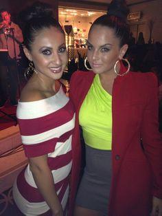Francia Raisa was spotted wearing Butter By Nadia alongside long time friend, Jojo.