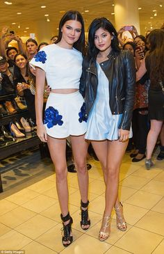 Meet & Greet: Kendall and Kylie Jenner met with hundreds of their fans at a promo event fo...