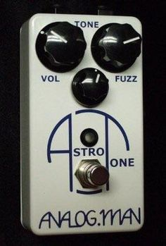 Analogman Astro Tone Fuzz 2016 White