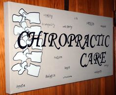 """""""Chiropractic Care"""" Painting Image"""