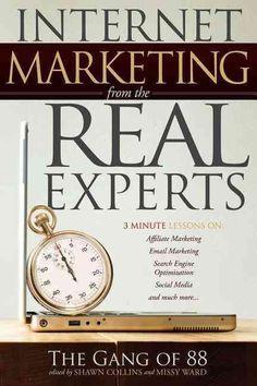 Internet Marketing from the Real Experts: 3 Minute Lessons On: Affiliate Marketing, Email Marketing, Search Engin... Confira as nossas recomendações! http://www.estrategiadigital.pt/category/livros-marketing-digital/