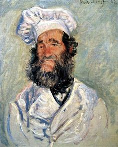 Claude Oscar Monet - Retrato de Père Paul