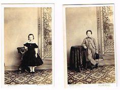 Old CDV Photographs Children Nesbitt Studio Blandford Victorian Fashion C 1870   eBay
