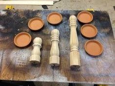 DIY Candle Stick Holders - Wilker Do's