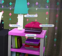The Sims 4 | grilledcheese-aspiration Functioning Folded Clothes Dresser | buy mode object mod